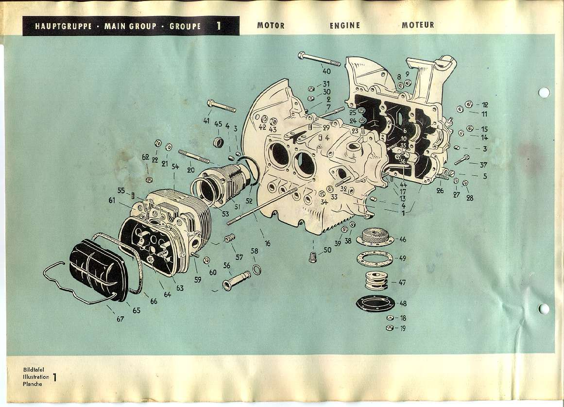 vw type 1 engine diagram project beetle pinterest vw beetles rh pinterest com 1600cc vw engine diagram 1967 vw beetle engine diagram [ 1161 x 838 Pixel ]