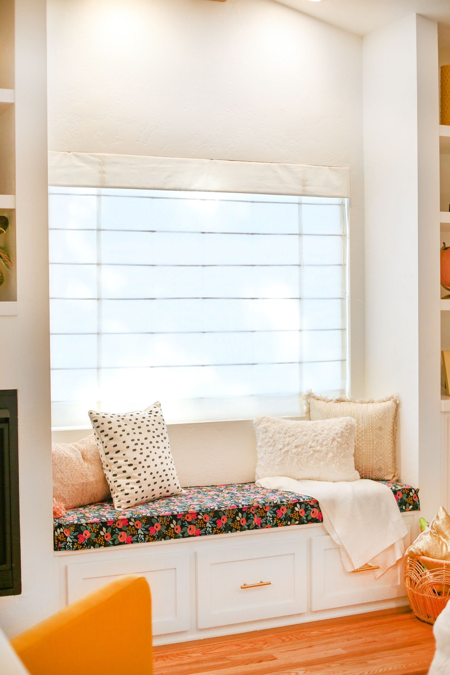 Outfitting a Windowseat // Our Favorite Window Coverings