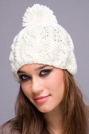 Modelos de gorros de lana - Imagui  dfe97826fbe