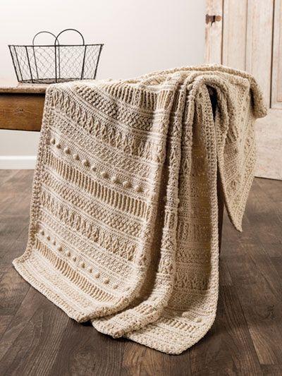 ANNIE'S SIGNATURE DESIGNS: Gansey Style Crochet Af