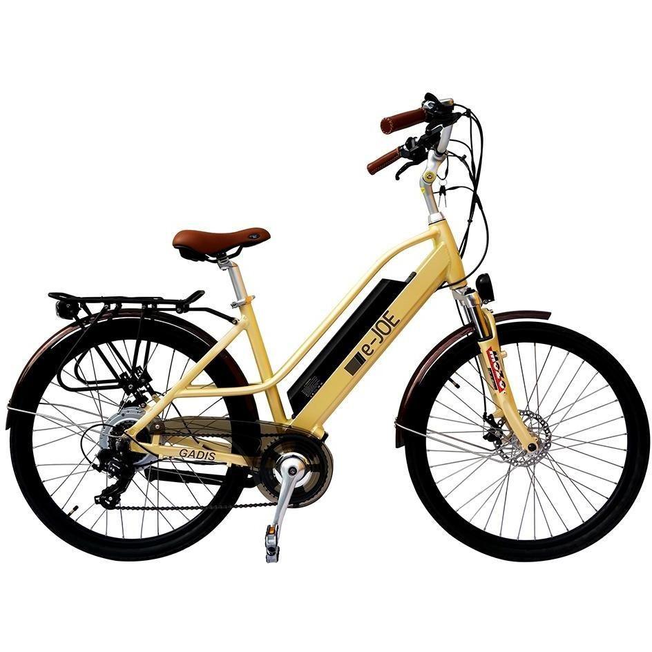 E Joe Gadis Step Thru Electric Cruiser Bike Bicycle Electric