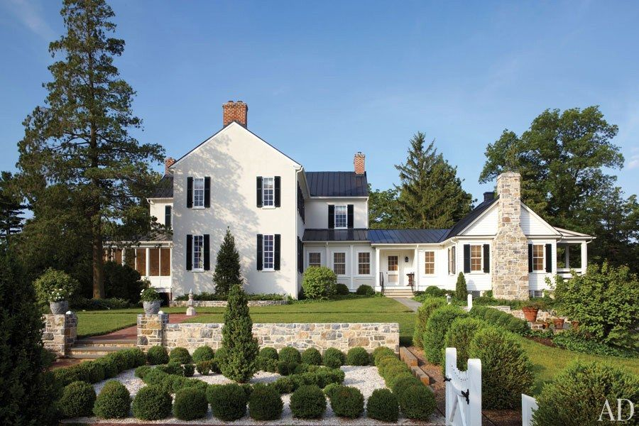 Elizabeth Lockes Federal Style Virginia Farmhouse