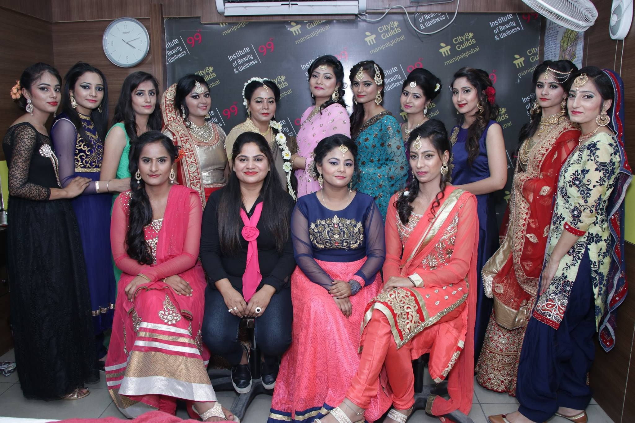 Best Beauty Institute in Ludhiana Bridal makeup services