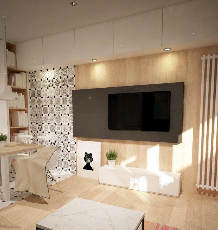 Wandgestaltung im Wohnzimmer \u2013 85 Ideen und moderne Beispiele - moderne wandgestaltung fur wohnzimmer