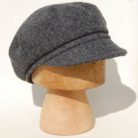 fc1b20f19f6 Image result for handmade felt baseball cap women Harris Tweed Fabric