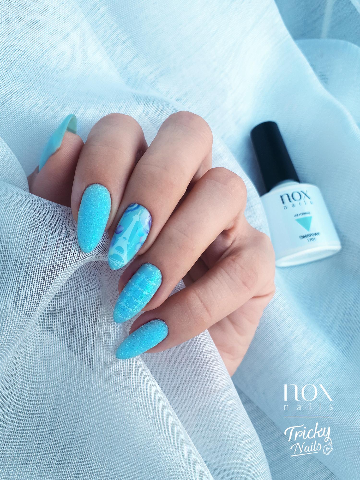 Nox Nails Oceaniczny Podmuch 1g Efekt Szronu Nails Beauty