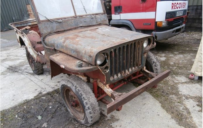 eBay: Barn find Willys jeep 1943   War History Online ...