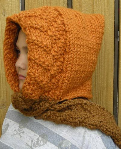 Scoodie (Scarf and Hood) Knitting Pattern NOT these colors ...