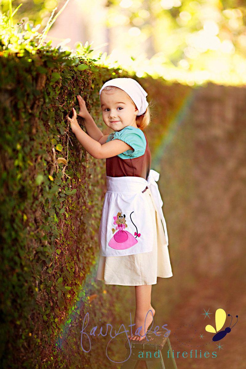 Working Cinderella Pure Princess Peasan Dress Or Costume Via Etsy