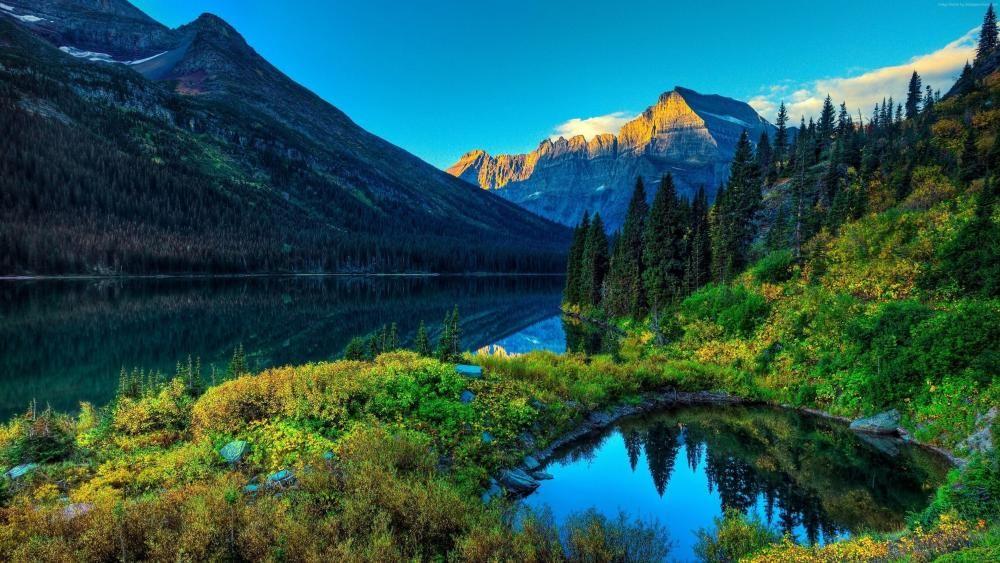Beautiful Montana Wallpaper Scenery Wallpaper Landscape Wallpaper Scenery