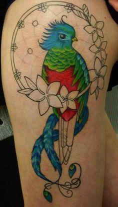Quetzal Mayan Tattoos Quetzal Tattoo My Quetzal Bird Tattoo