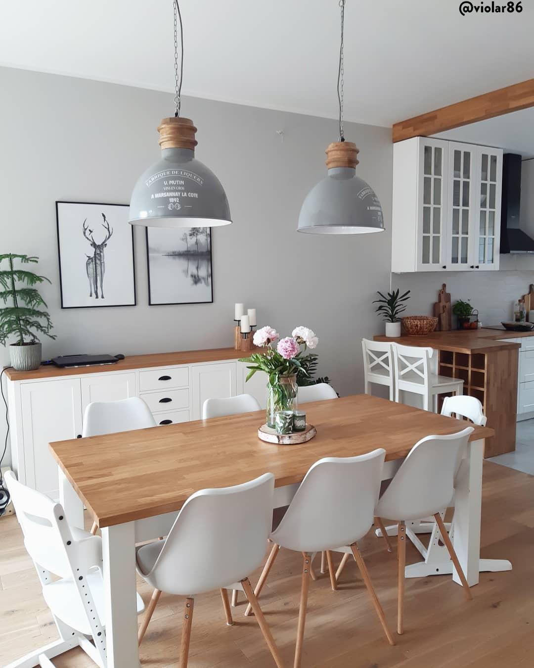Crea anche tu una sala da pranzo in stile scandi rustico ...
