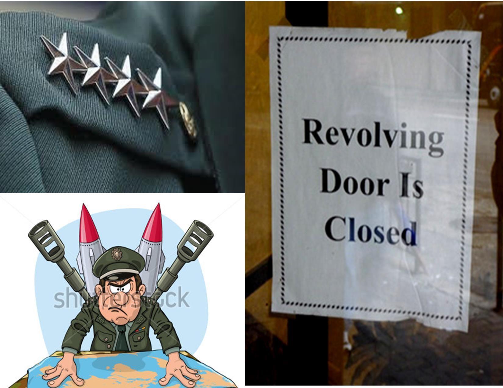 Military to Civilian Revolving Door is Closing Military