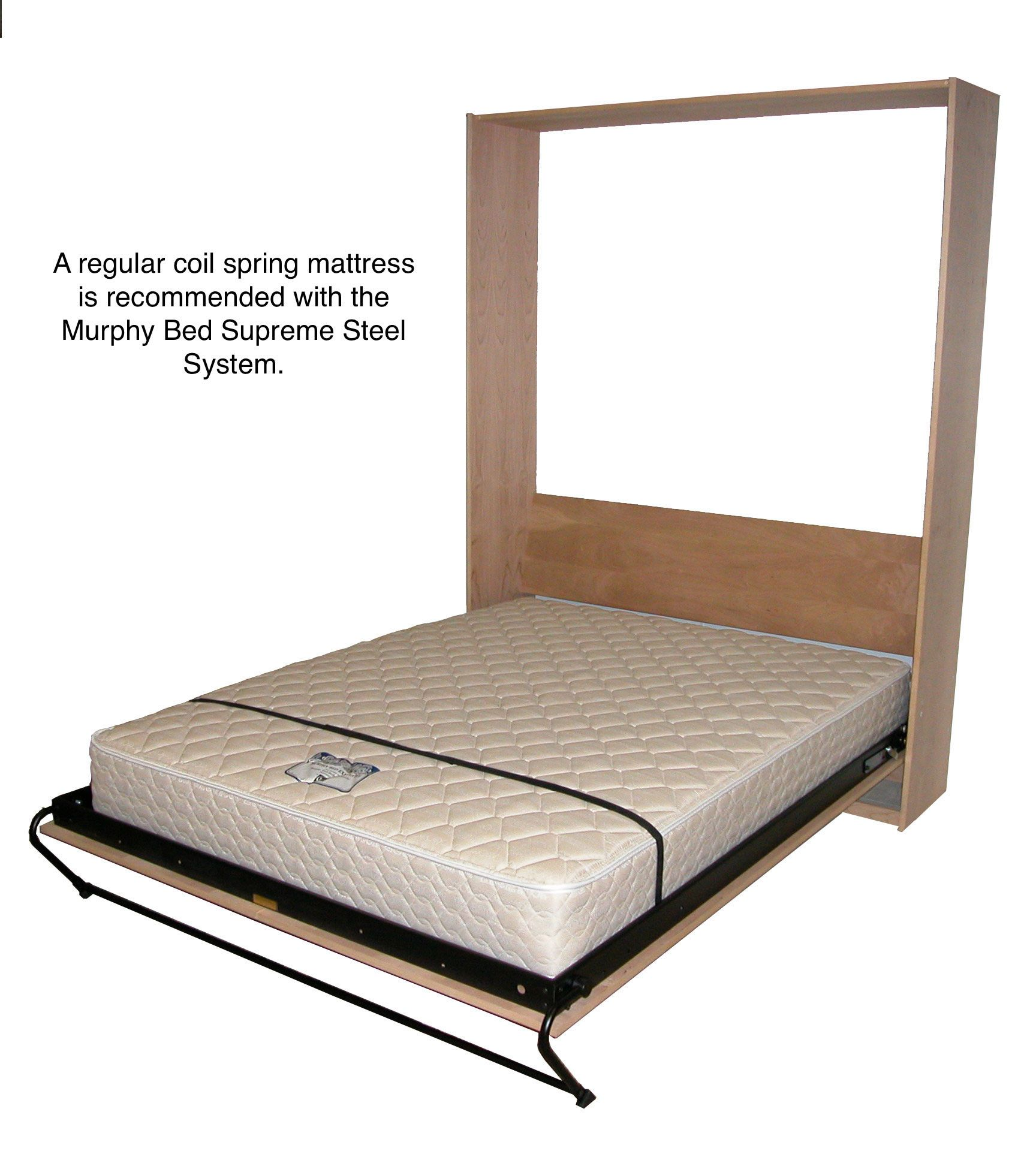 Upright Supreme Mattress Murphy bed, Murphy bed plans