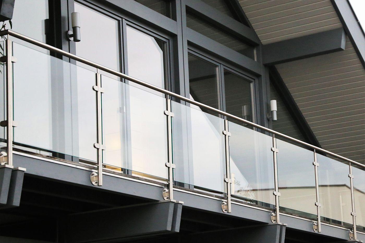 Glass Balcony Balustrade Balcone Moderno Balconi Vetrate