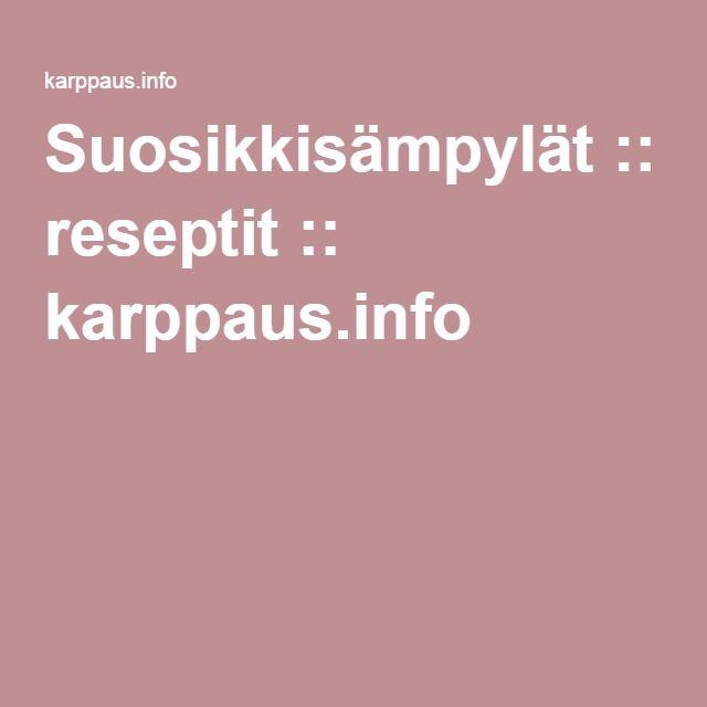 Suosikkisämpylät :: reseptit :: karppaus.info