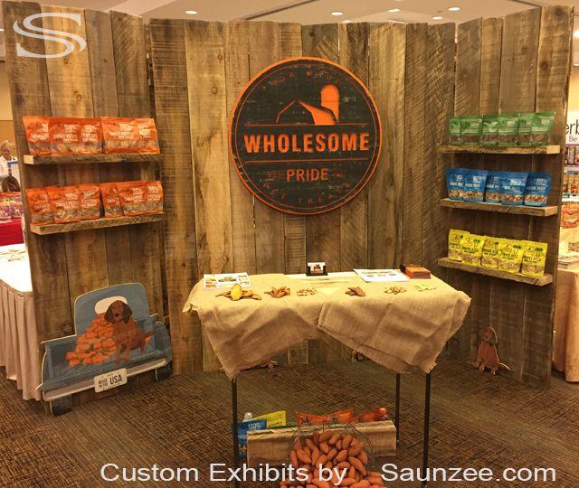Wood Trade Show Booth : Custom barn wood trade show booths exhibits rustic wood trade show