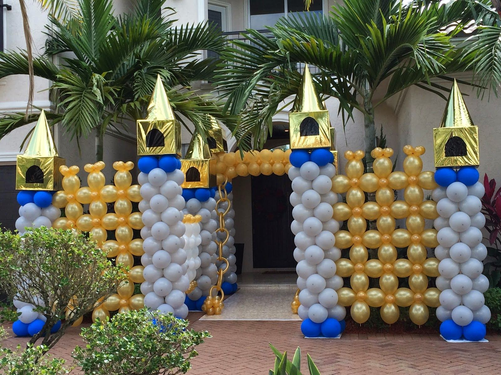 Princess Balloon Decoration 17 Best Images About Balloon Decorations On Pinterest Wedding