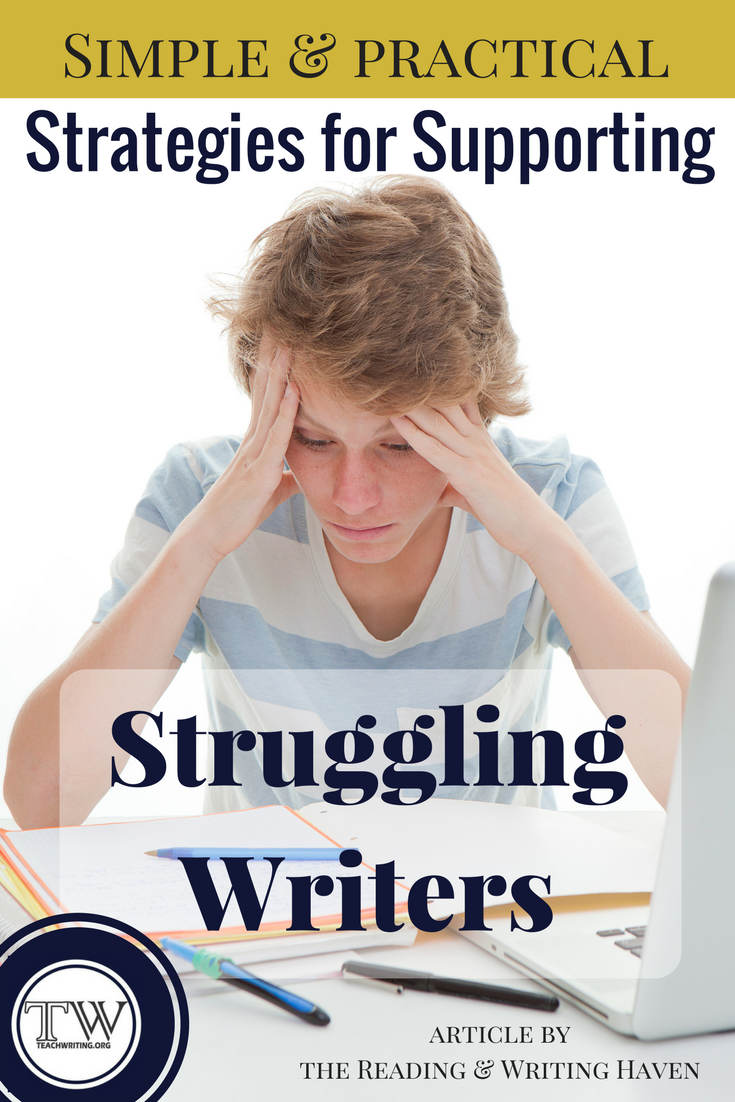 The Homework Struggle Parody Every >> 14 Strategies To Support Struggling Writers Build Confidence