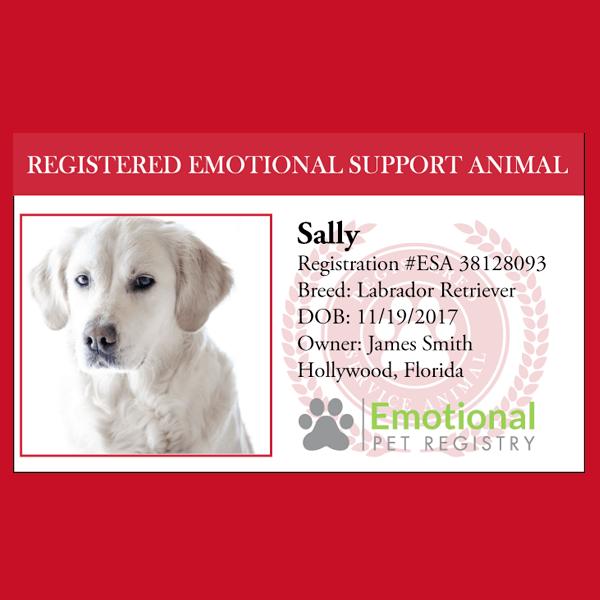 Emotional Support Animal Registration | Emotional support ...