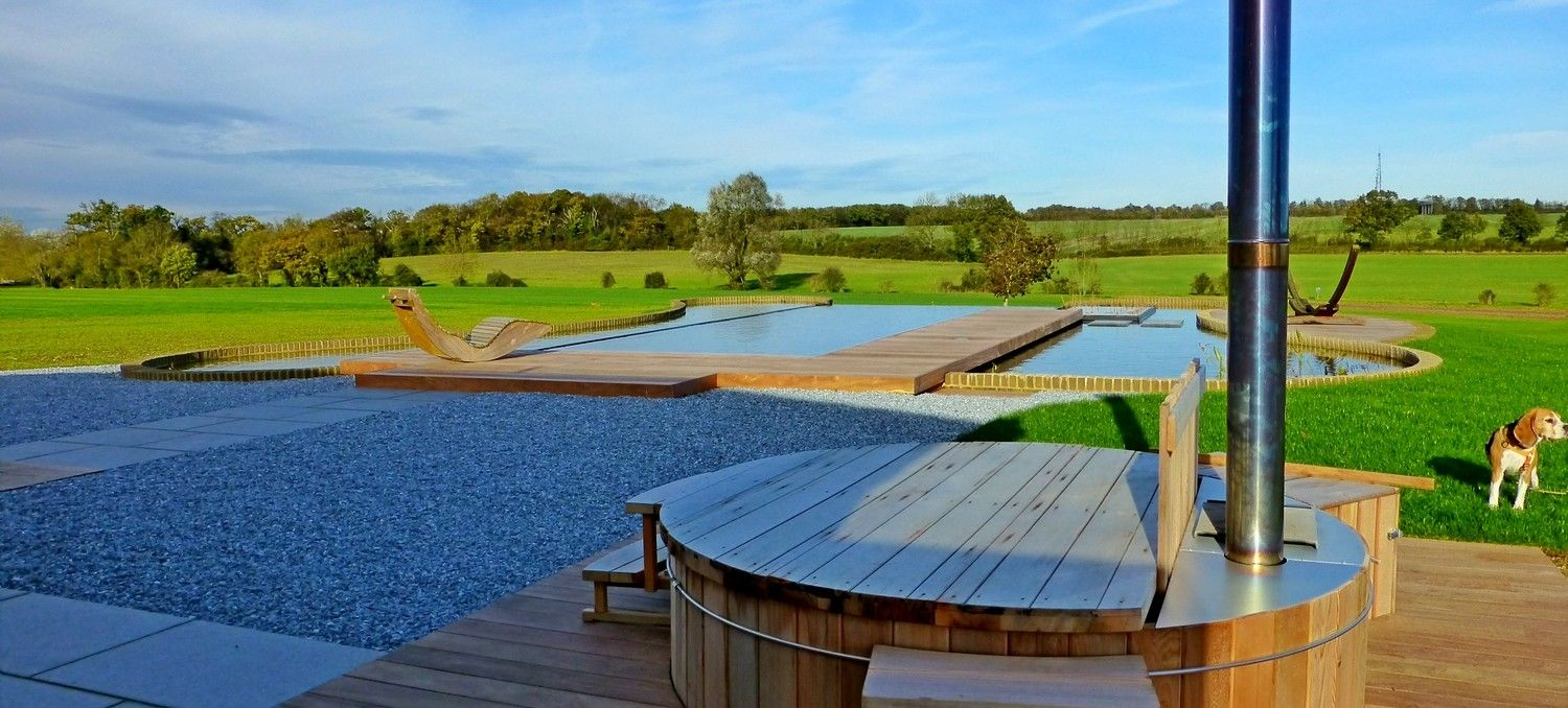 Infinity Natural Swimming Pool (hot tub) | For the Home | Pinterest ...