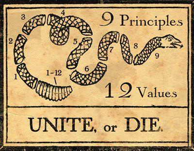 Vintage propaganda poster from the American Revolution. | history ...