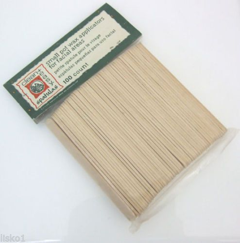 Wax Applicator Sticks Clean Easy 4102 Small Wood Applicator