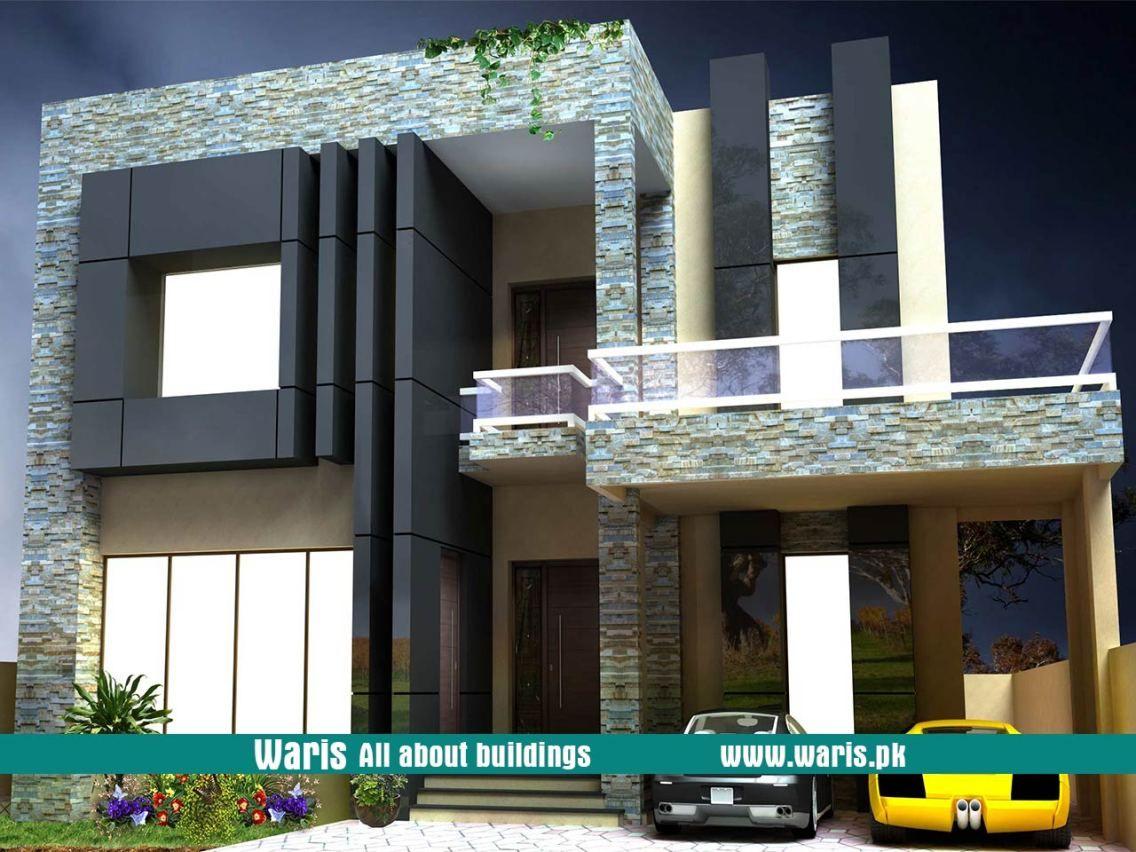 kanal houses design in pakistan also elevation house rh pinterest
