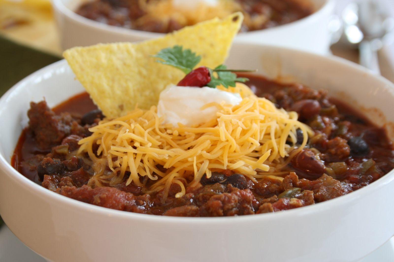 7 pepper make ahead chili Recipes, Easy beef chili
