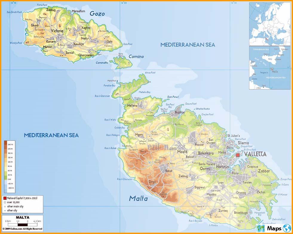 Cartina Di Malta Da Stampare.Mappe Di Malta Raccolta Completa Di Mappe Del Mondo C Nel 2021 Mappe Mappa Del Mondo Malta