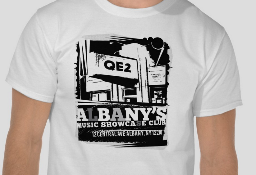 Albany QE2 Vintage Retro T-Shirt   Zazzle com   T Shirts   T shirt