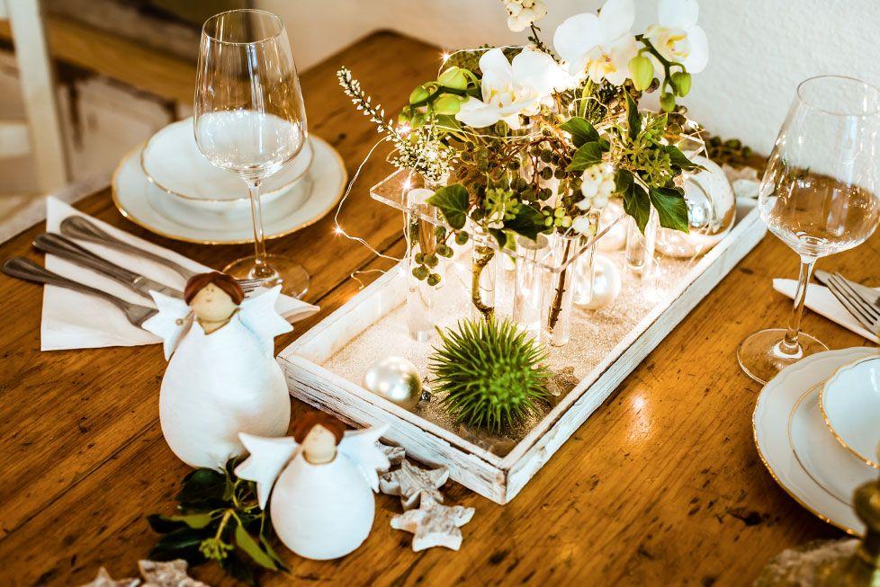 tischdeko zu weihnachten weihnachten x deko pinterest. Black Bedroom Furniture Sets. Home Design Ideas