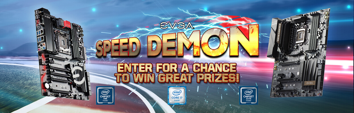 Enter for a chance to WIN great prizes from @TEAMEVGA and Intel! https://wn.nr/hpYSPy
