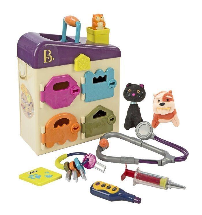 Medical Toys Kits Pet Vet Clinic Veterinarian And Play Pet Doctor For Kids Btoys ของเล นเด ก