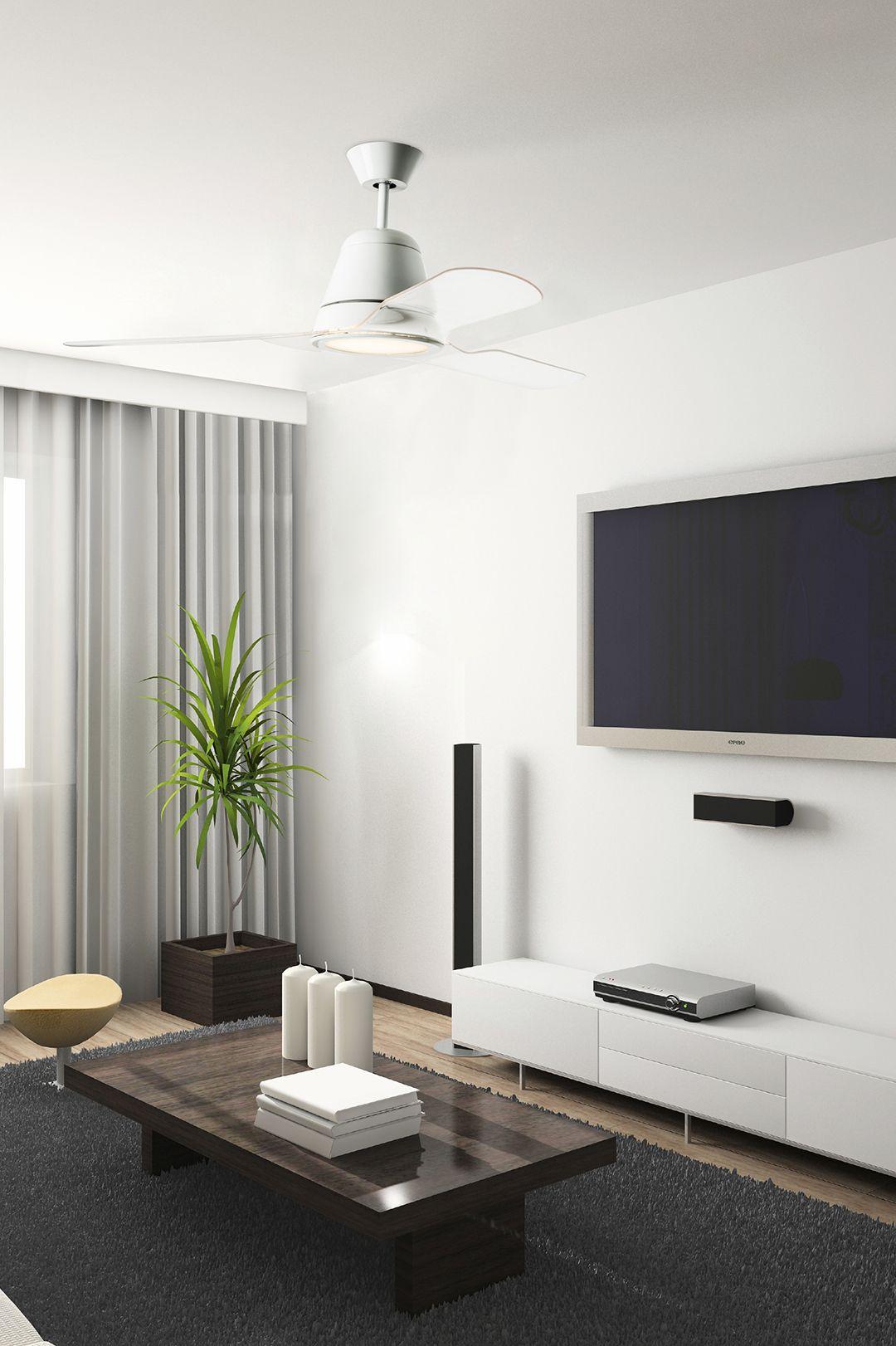 Ventilateur De Plafond Design Tiga De Leds C4 Mister