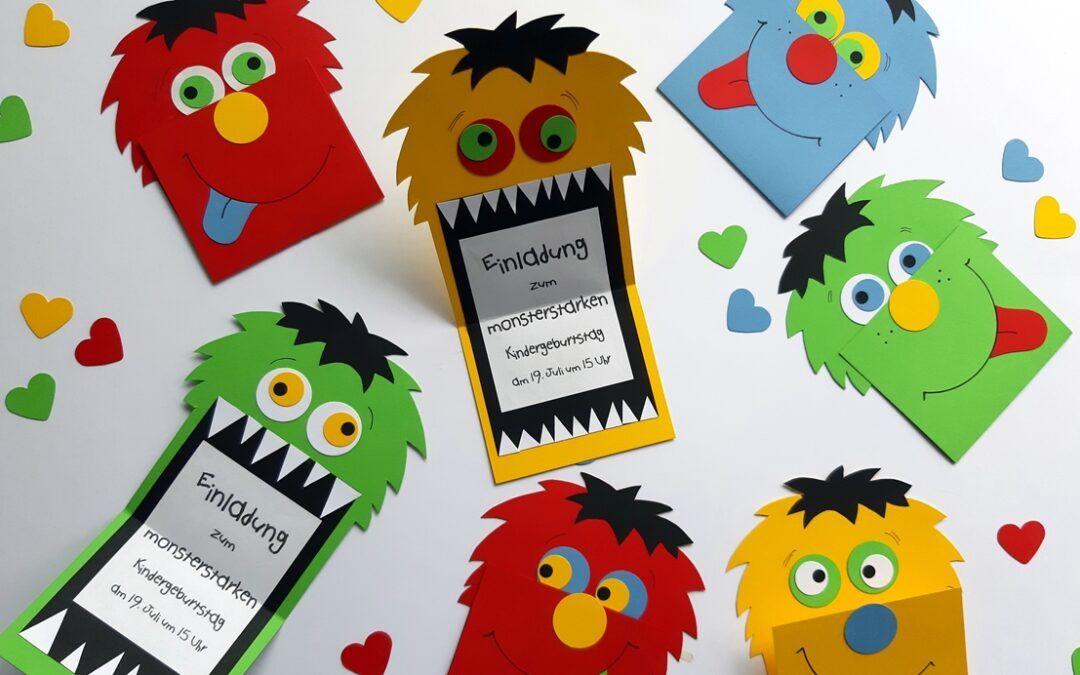 einladungskarte zum kindergeburtstag kreativ blog