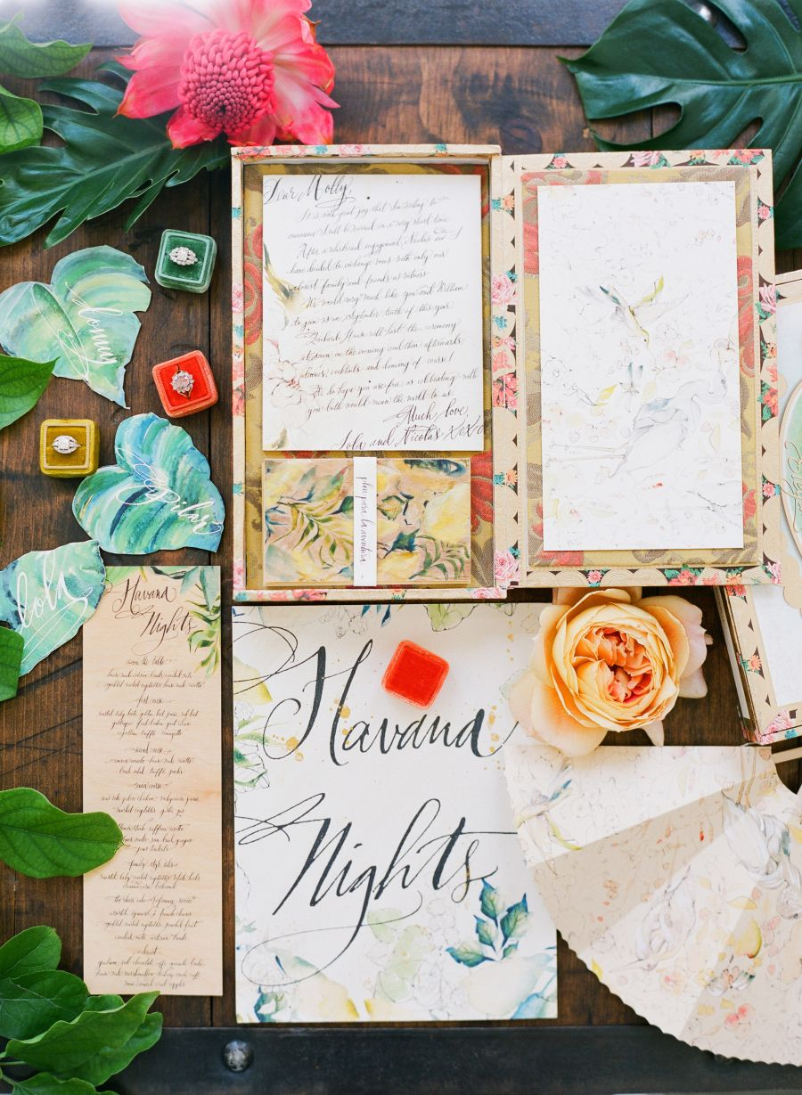Authentic Colorful Cuban Wedding Inspiration In 2019 Wedding