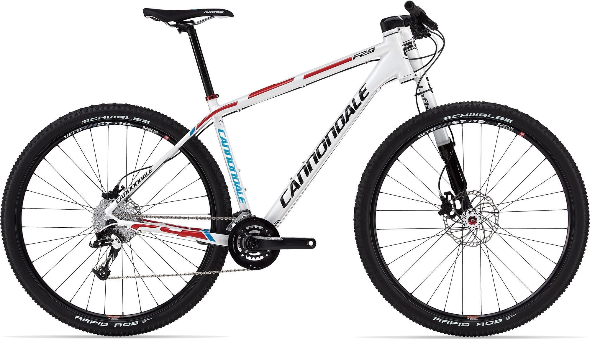 Cannondale F29 Alloy 1 Bike 2013 Hardtail Mountain Bike Giant Bicycle 29er Mountain Bikes