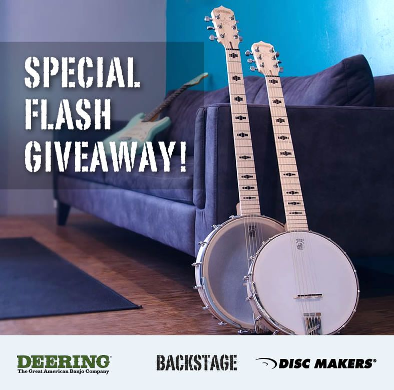 Win this beautiful Deering Goodtime Six 6-string banjo | Projekty do