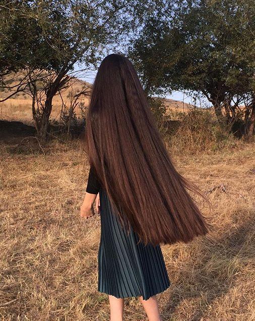 Knee Length Hair Long Hair Styles Hair Styles Long Hair Girl