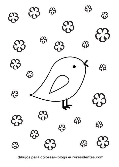 Colorear dibujos de animales. Pollitos   Pinterest   Colorear ...