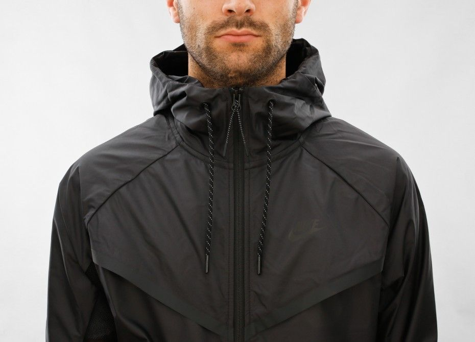 Nike Tech Hypermesh Windrunner Black Black Black Nike Tech Black Nike