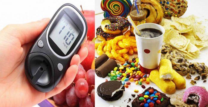 alimentos fritos y diabetes