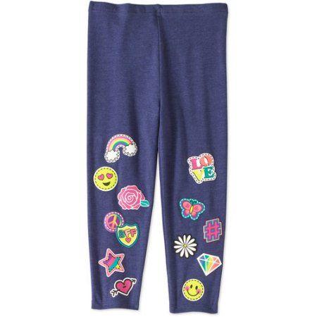987efc67dbfed Garanimals Baby Toddler Girls' Graphic Leggings, Size: 3 Years, Blue ...