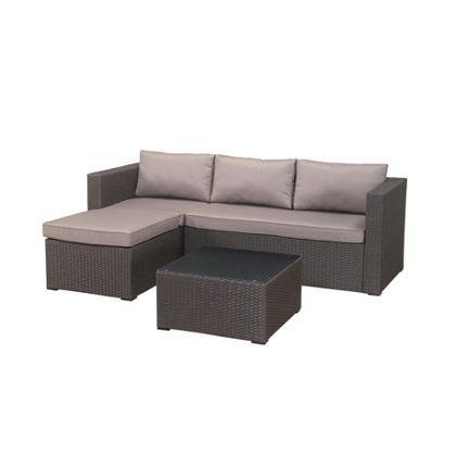 Ordentlich Alexandria Hand Woven Rattan Garden Corner Sofa Set | terrace  ZA93