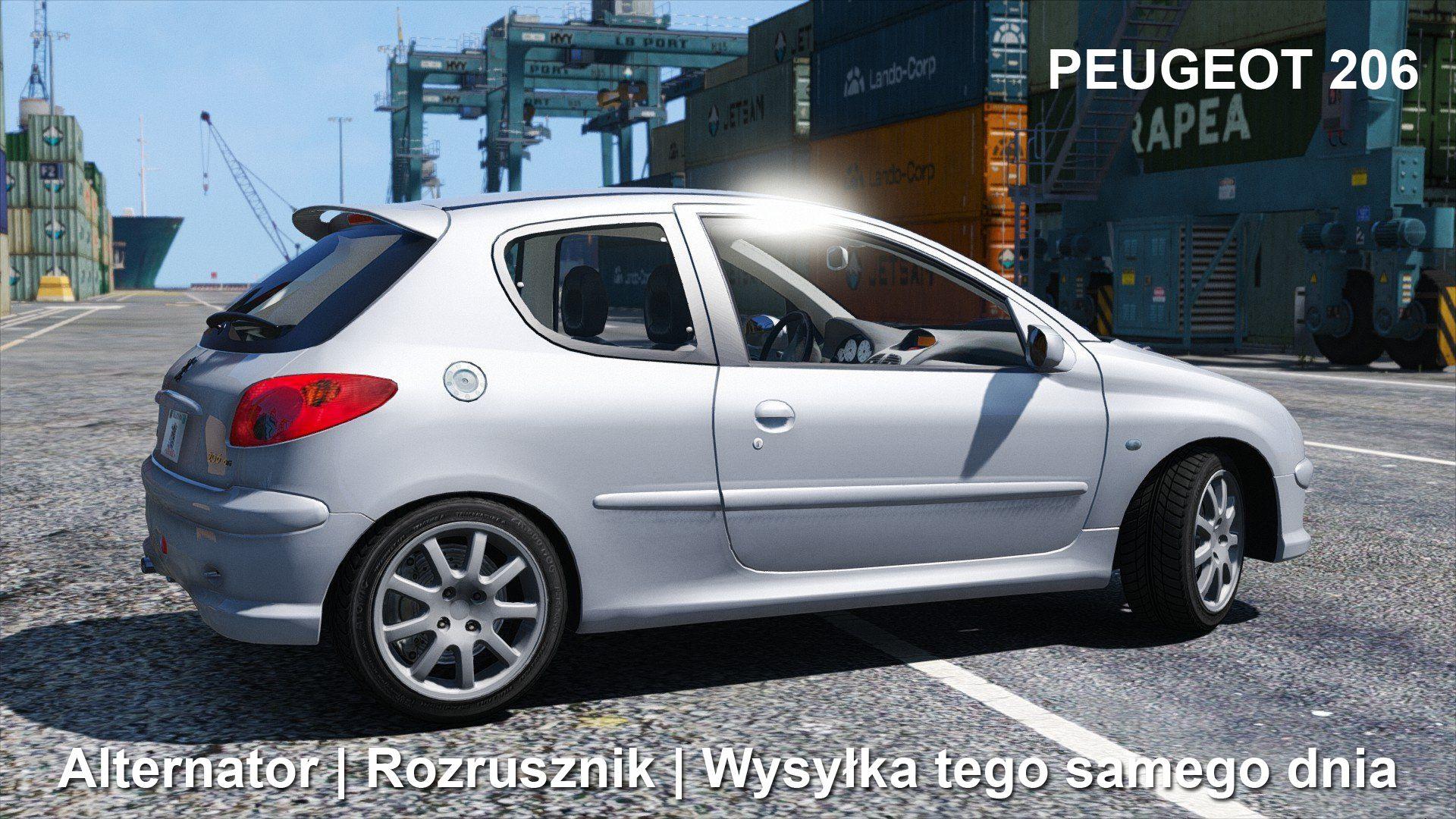 Posiadasz Peugeot 206 I Masz Problem Z Alternatorem Badz Rozrusznikiem Skontaktuj Sie Z Nami 792 205 305 Allegro Polstarter Pl Peugeot Car Car Door