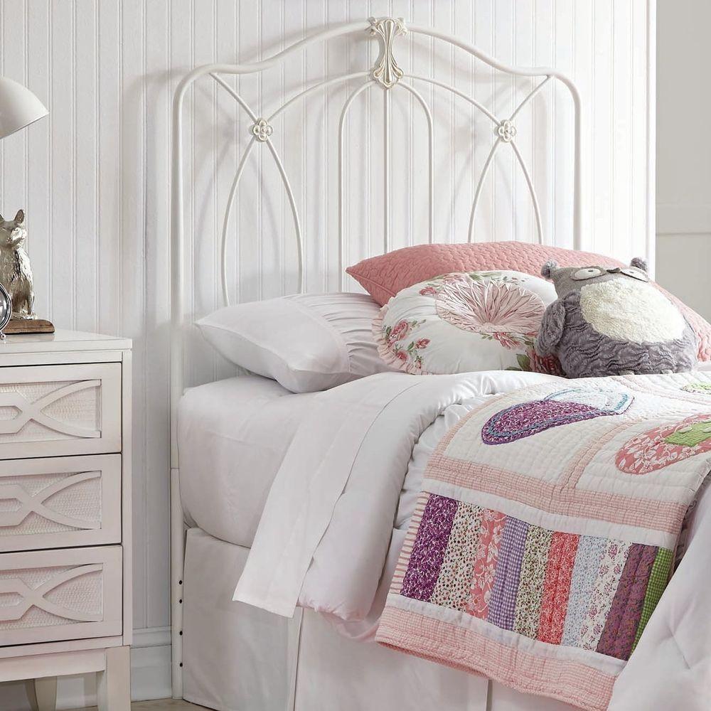 Harriet bee damion wrought iron headboard in bedroom beauty
