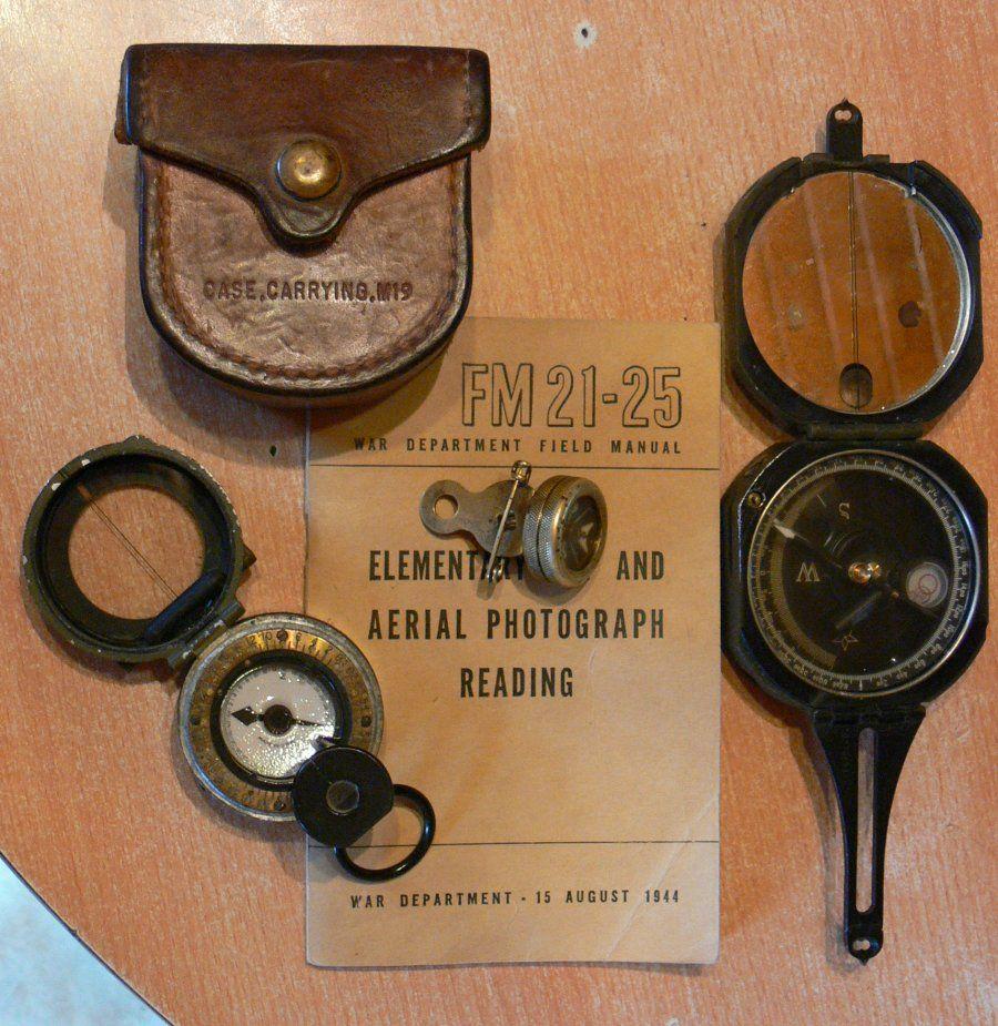 Marble S Compass Gladstone Michigan Ww 2 Brass Compasses Eucmh Knowledge Base Kompas