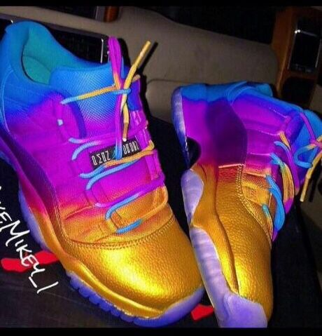 Colorful Jordan 11 Lows  a363abf7e