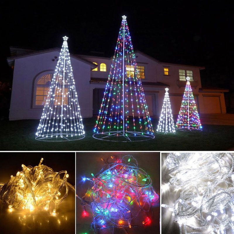 Energy-Saving 10M 100 LED Waterproof Christmas Decoration For Home